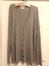 Liz Claiborne Woman Cardigan Sweater, Long Sleeve, 3 X, NWOT
