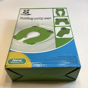 Travel AID Folding Portable Potty Training Toilet Seat Cover For Kids, New