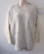 iiS Woodling IIS OF NORWAY Women's Wool Angora Colorblock Jumper Sweater Size S