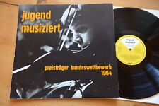 JUGEND MUSIZIERT 1964 Vivaldi Bach Suk etc.LP Nr 101