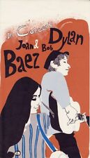 Vintage 1965 Joan Baez, Bob Dylan Handbill--Artist Eric Von Schmidt