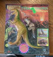 MOC 1996 Imperial Jurassic Collection Tyrannosaurus And Triceratops