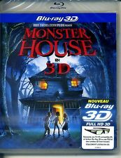 MONSTER HOUSE   BLU RAY 3D   neuf  ref03111635