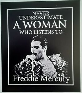 Freddie Mercury - QUEEN ☆ MAGNET ☆ Never Underestimate a Woman ☆