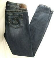 Silver Jeans Suki Jegging Tagged 30 x 31