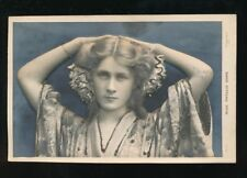 Theatre Miss Phyllis Dare Bas-Relief Glitter heavy embossed pre1919 PPC