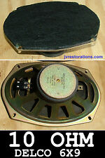 1970 71 72 73 74 Camaro Chevelle Nova GTO Delco 10 Ohm 6x9 GM Speaker Refurbish