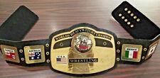 NWA World Heavyweight Championship wrestling Belt adult replica
