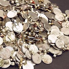 200 real COINS Tribal Belly Dance Kuchi Tribe SMALL ((polished))