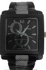 Geneva Two Tone Bold Mens Stainless Steel Watch