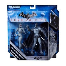 DC Comics Arkham BATMAN & CATWOMAN 6 in (ca. 15.24 cm) Chase VARIANTE Toy Figure Set