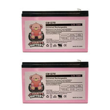 CHARITY BATTERY 12V 7AH BATTERY FOR RAZOR E200 & E300S ELECTRIC SCOOTER(2) Pack