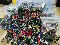 1kg (x850pc's) LEGO TECHNICS BULK LOT BUILDING PACKS - 100% TECHNICS LEGO!