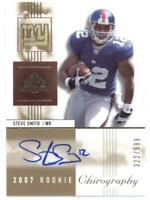 2007 SP Chirography #134 Steve Smith (RC - Rookie Card) (Autographed) /699
