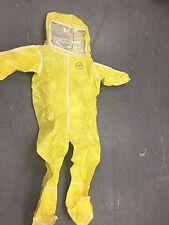Kappler Frontline Safety/Chemical/Hazmat Suit - Yellow - Size XX - Brand New!