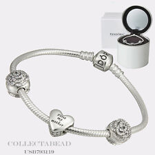 "Authentic Pandora Bouquet of Love Gift Set 2015 7.5""  USB793119"