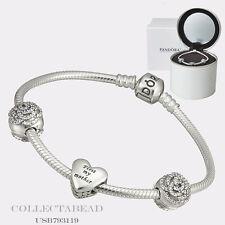 "Authentic Pandora Bouquet of Love Gift Set 2015 7.5""  USB793119"