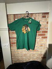 Chicago Blackhawks Green St Patrick's Day T-Shirt Xl New