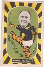Rare 1957 Kornies Mascot Card Richmond Des Rowe