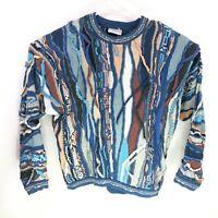 Rare Vintage 80s Coogi Biggie Cosby Mercerised Cotton Sweater XL Australia