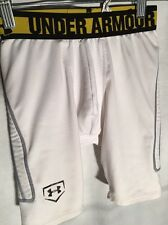 Under Armour Boys Compression Shorts Youth Small Performance Apparel Fitted Heat