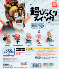 One Piece Super Surprised Swing Gashapon Lucy Perona Usopp Enel Chopper Set 5pcs