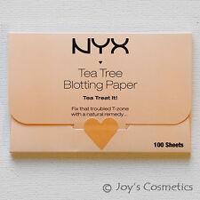 "1 NYX Tea Tree Blotting Paper - ""BPRTT"" (100% Pure pulp)   *Joy's cosmetics*"