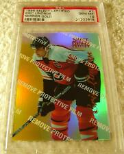 ERIC LINDROS 1996-97 SELECT CERTIFIED MIRROR GOLD PARALLEL #1 PSA 10 POP 1