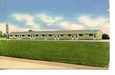 Star Motel Building-Morristown-Ohio-Vintage 1957 Advertising Postcard
