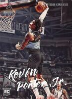 Kevin Porter Jr. RC 2019-20 Chronicles LUMINANCE Dunk Rookie Card #148 Cavaliers