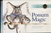 2017 Possum Magic 1c & $2 & $1 coin folder set UNC coins RAM  Australia