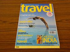 The Sunday Times Travel Magazine: Dec 04/Jan 05: Exotic Villas, Hawaii, India