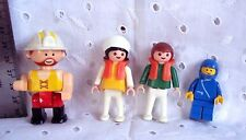 PLAY MOBILE LITTLE PEOPLE TOYS GEOBRA 1981 Lot Of 4  Vintage