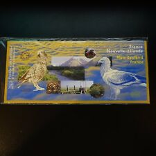 . Francia Nuova Zelanda 2000 Fauna / Monete Blister