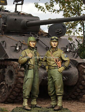 Alpine Miniatures 1:35 US 3rd Armored Division Set - Two Resin Figures #35219