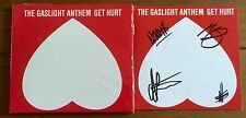 The Gaslight Anthem - Get Hurt Signed Booklet & Cd BRIAN FALLON