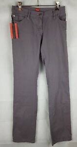 Kwame by Francis Women's Grey Casual Pants 100% Cotton Size 8 RRP $175.00