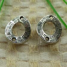 free ship 50 pieces tibetan silver nice connector 18x15mm #3759