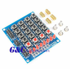2PCS 4x4 Keypad matrix keyboard buttons LED Marquee Independent keyboard  M119