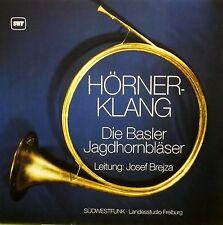 Hörner-Klang Die Basler Jagdhornbläser  Josef Brejza  Südwestfunkstudio Freiburg