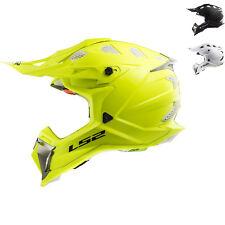 LS2 Helmet Bike Off-road Mx470 Subverter Mono Gloss White L