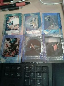 Artbox Disney Filmcardz Rare Chase Set R1-6