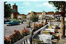Kalkar Niederrhein Markt Germany Canada Dry Ad Umbrella Vintage 4x6 Postcard D77