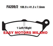 Coppia Pastiglie Freno Ebc Posteriore FA209/2 BMW R1200GS 1200 2014>