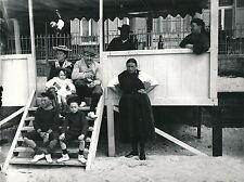LE CROTOY c. 1900 - Photo de Famille en Vacances Apéro Somme - Div 6724