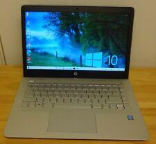 HP PAVILION 14 BK-063SA INTEL PENTIUM GOLD CPU 1000GB HDD 16GB DDR4 RAM W10