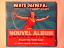 BIG SOUL Funky beats cd