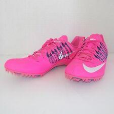 Nike Zoom CELAR V (5) Sprint Running PINK 629226 615 MEN 7.5 with Spikes & SRT