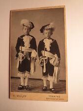 2 Kinder Jungen in Uniform - Pagen Vogelschießen Vogelschiessergilde CDV Tönning