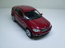 BMW X6 Red, Welly Car Model approx. 1:3 5-1:3 8, New, BOXED